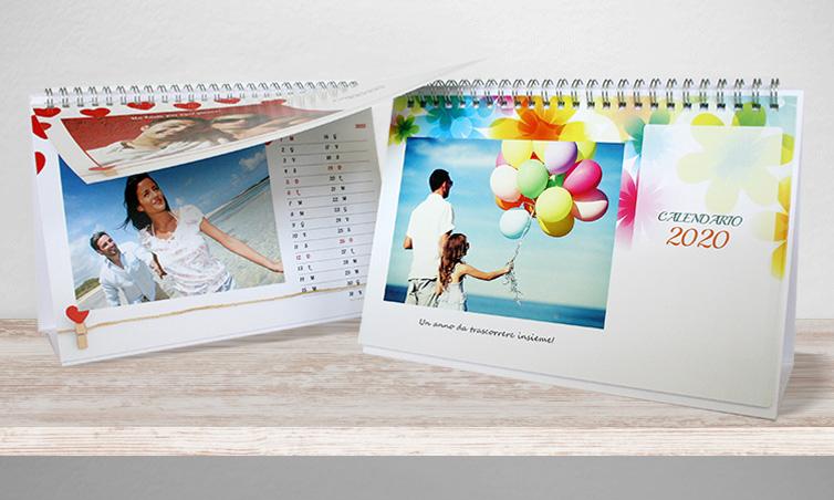 Calendari da tavolo 12 mesi - Calendari da tavolo con foto ...